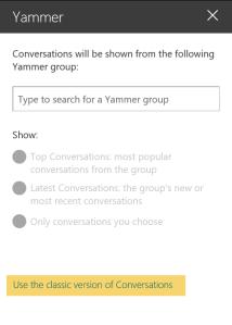 Yammer web part 02