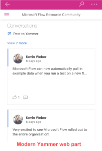 Yammer web part 09