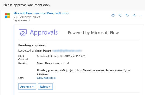 Microsoft Flow | Sarah Haase