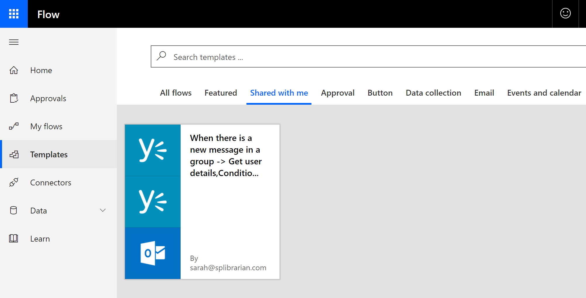 Build it with Microsoft Flow: Get a notification when a