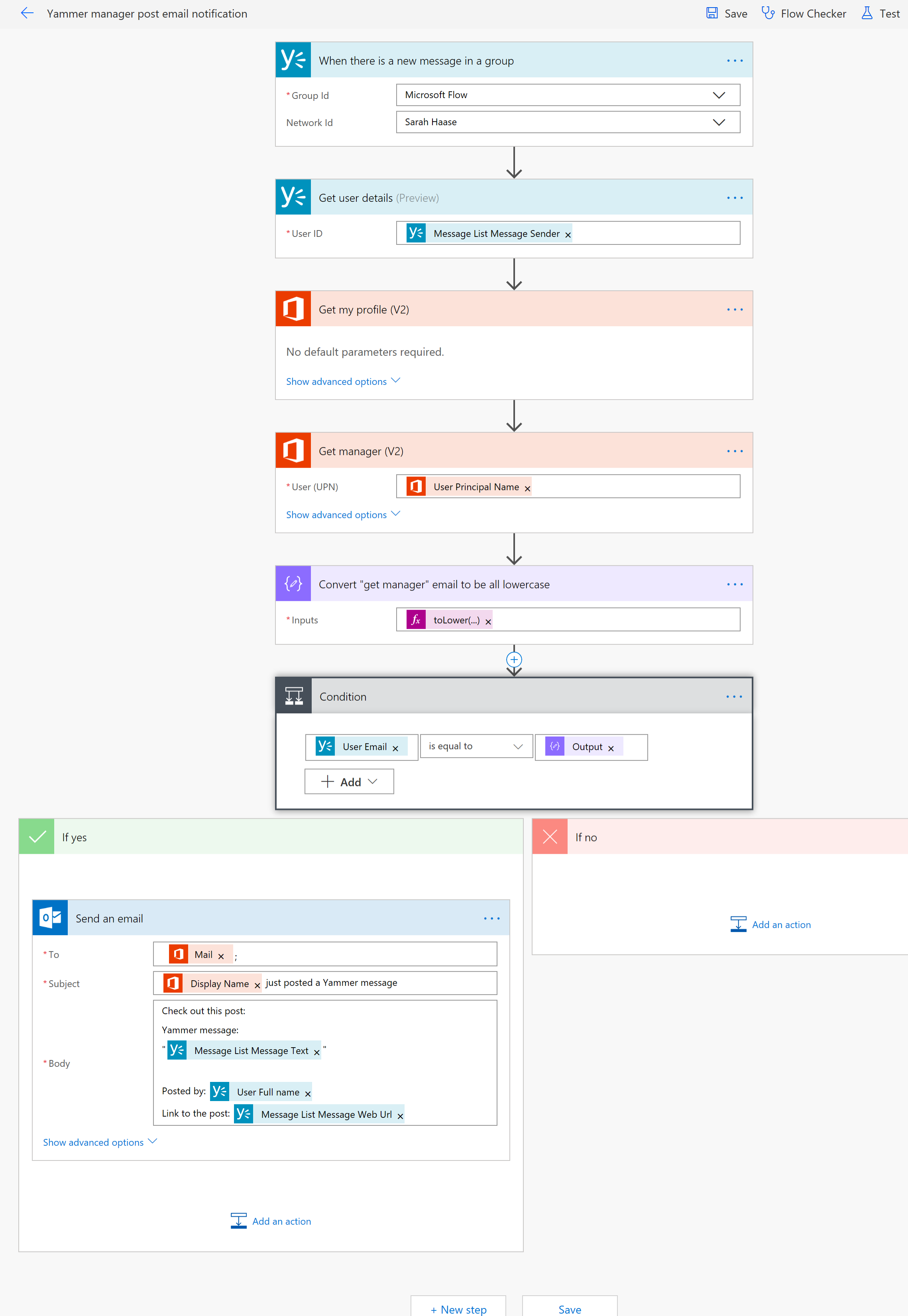 Yammer manager flow-01